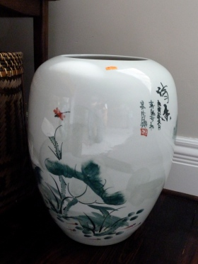 Chinese porcelain vase - Bargain price of $60