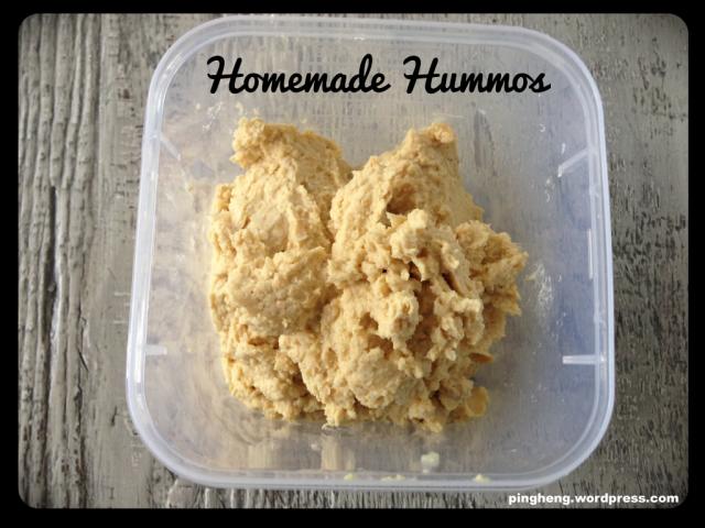 Homemade hommus using the Thermomix