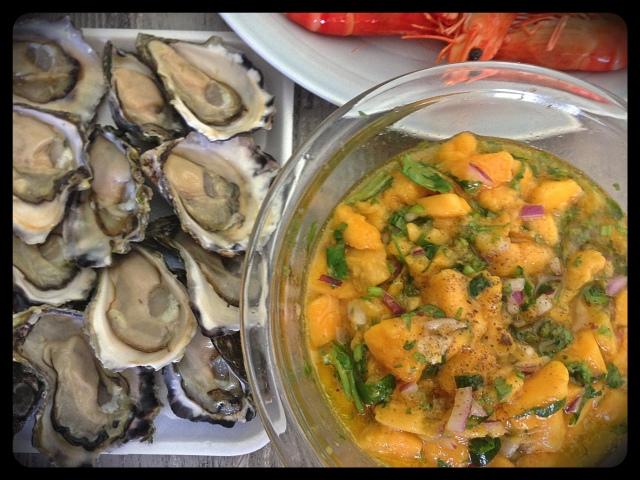 Paleo Mango Salad | Pingheng