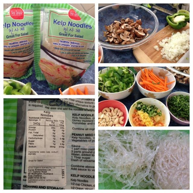 Paleo Chap Chae (Kelp noodles) | Pingheng